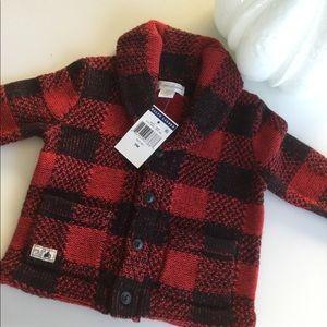 NWT Ralph Lauren Buffalo Plaid Sweater